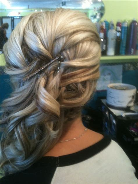 images  fancy side ponytails  pinterest