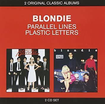 blondie parallel linesplastic letters amazoncom
