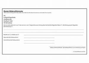 Widerrufsformular Muster Pdf : versandapotheke ~ Eleganceandgraceweddings.com Haus und Dekorationen
