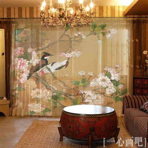 printing luxury vintage style light shade window