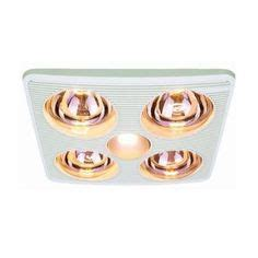 combination exhaust fan  heater  light bathroom