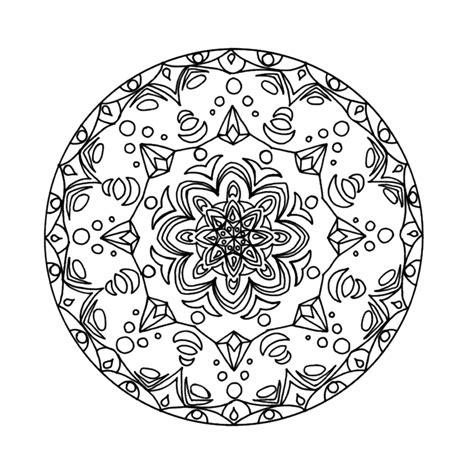 Kleurplaat Mandala Kleuters by Leuk Voor Mandala 0036