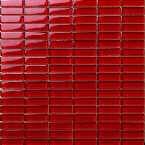 Crystal Glass Tile Brick Rectangle Kitchen Backsplash