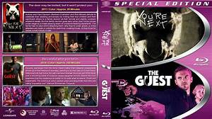 You're Next / The Guest Double Feature blu-ray cover (2011 ...