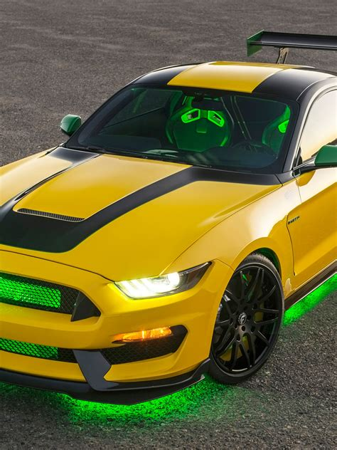 wallpaper ford mustang ole yeller shelby gt350 sports