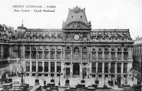 siege lcl le boulevard des italiens en 1900
