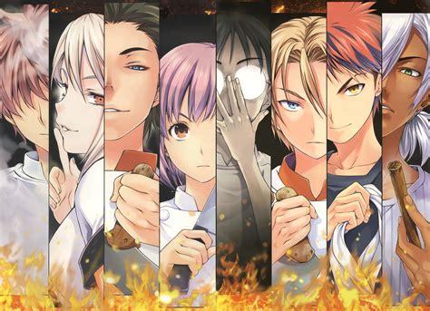 shokugeki  souma anime cooking soma badass