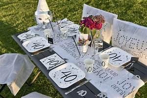 Décoration De Table Anniversaire : achat 10 assiettes anniversaire 60ans mariage ~ Melissatoandfro.com Idées de Décoration