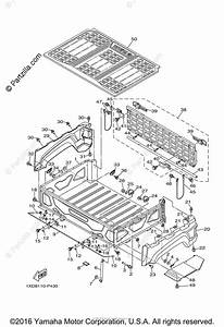 Yamaha Side By Side 2015 Oem Parts Diagram For Carrier