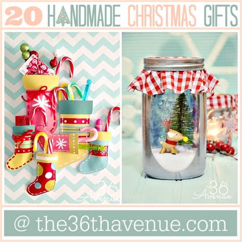 handmade christmas ideas christmas gift ideas the 36th avenue