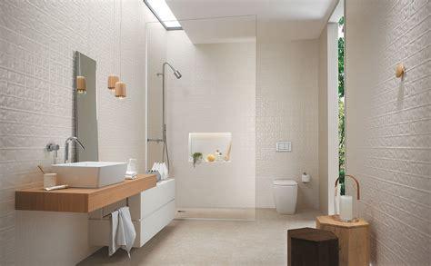 piastrelle bagni moderni lumina piastrelle per bagni moderni effetto materico fap