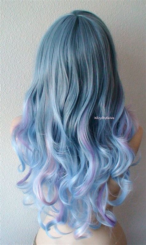 pastel colored wigs 25 best ideas about colored wigs on