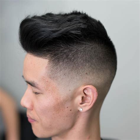 cool haircuts  shaved sides