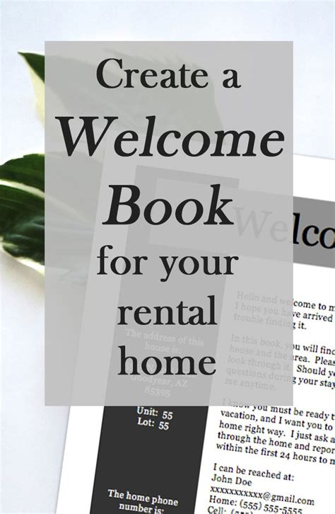 create  perfect  book   vacation rental