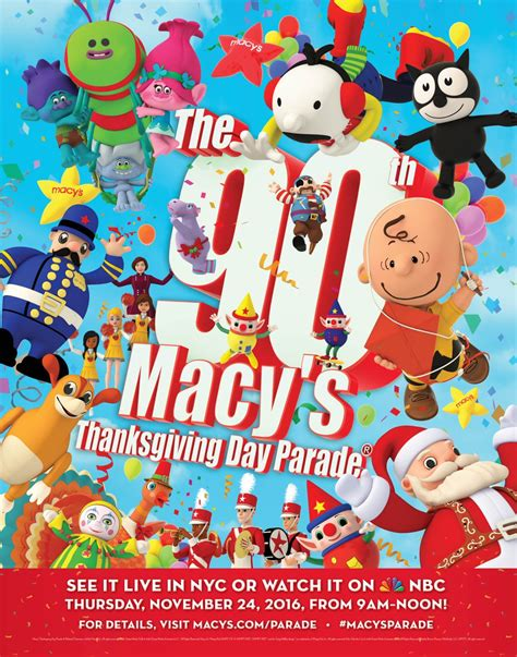 annual macys thanksgiving day parade  macy