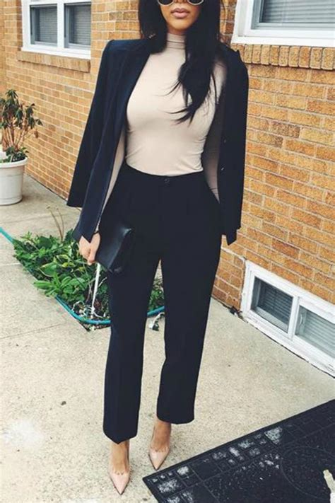 47 Work Outfits for Women Business and Casual Be Stylish Always - Damn You Look Good Daily