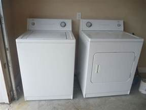 Whirlpool Cabrio Washer Dryer Troubleshooting