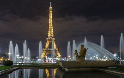 herunterladen hintergrundbild paris eiffelturm nacht