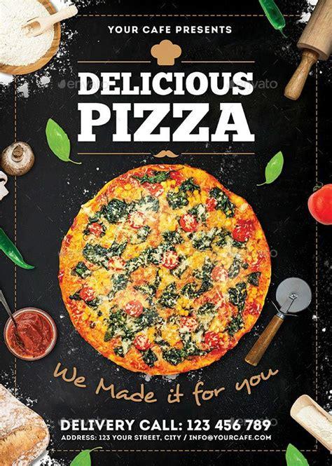 pizza flyer flyer design inspiration pizza flyer