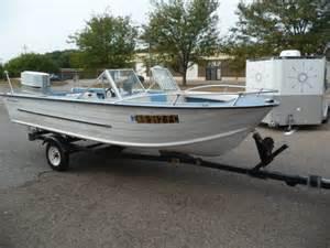 Vintage Starcraft Aluminum Boats
