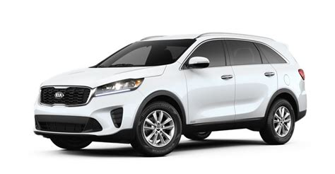 Kia Sorento 2019 White by 2019 Kia Sorento Exterior Color Options And Interior