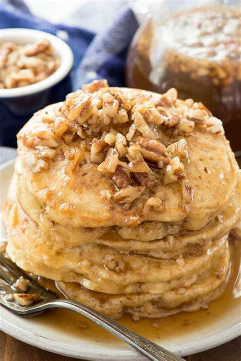 butter pecan pancakes crazy  crust