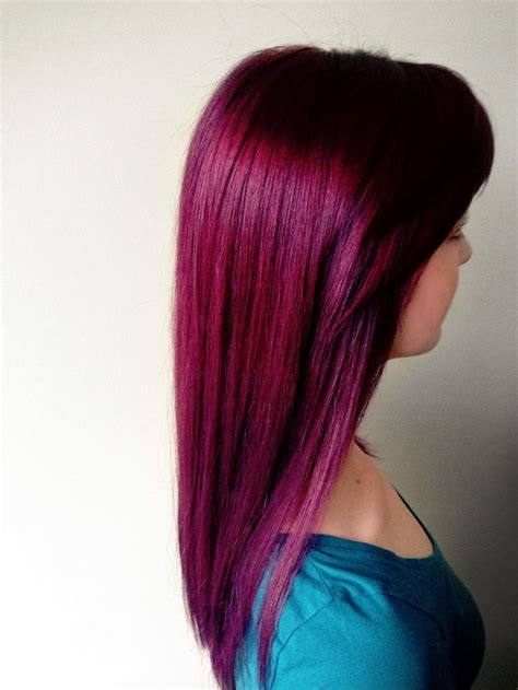 1000 Ideas About Violet Hair Colors On Pinterest Red