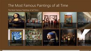 The Most Famous Paintings of all Time App Ranking and ...