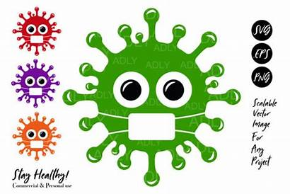 Virus Svg Covid Clip Viruses Grafik Graphic