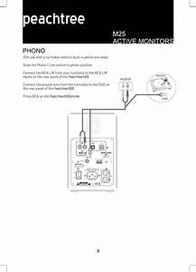 Signal Path Peachtree Audio M25 Bluetooth Speaker User