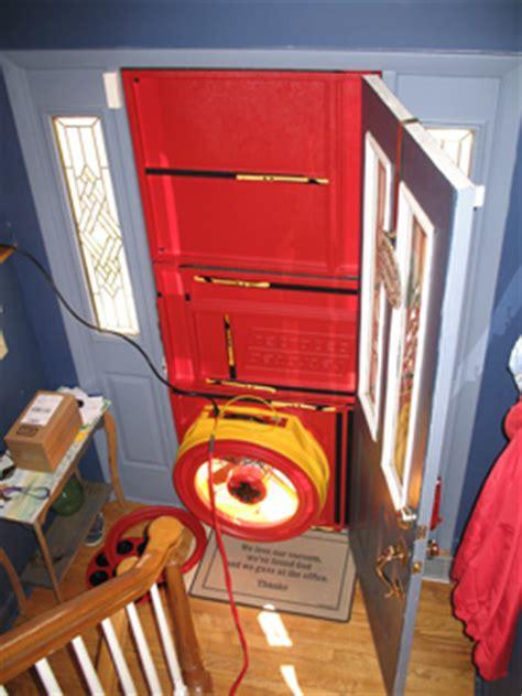 blower door test blower door test in dover georgetown seaford delaware