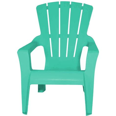 home depot plastic adirondack chairs adirondack well water patio chair 232984 the home depot