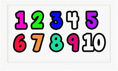 Numbers Clipart Transparent