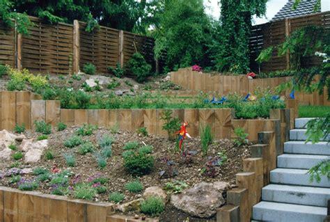 Hangbefestigung Im Garten by Hangbefestigung Holz Home Ideen