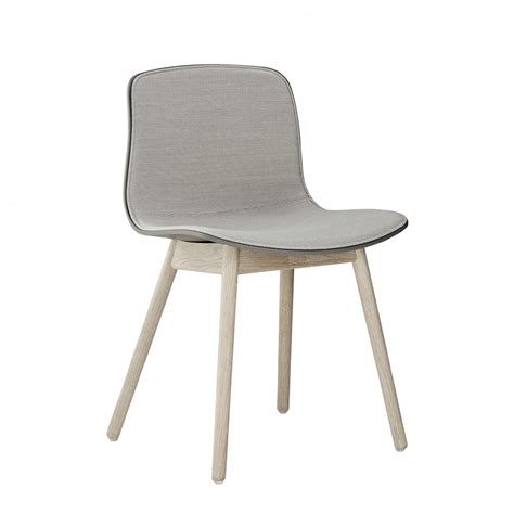 hay chaise aac 12 upholstered with kvadrat fabric and wood base hay