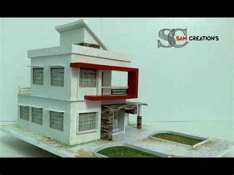 home design house model of modern architectural building 3