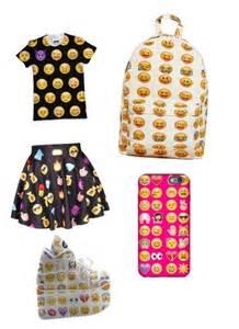 Emoji Clothes and Backpacks