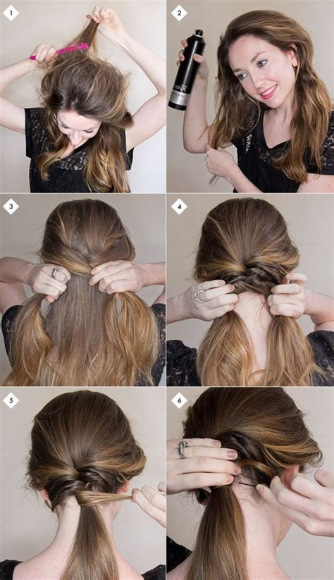 simple hair style 101 easy diy hairstyles for medium and hair to snatch 6822