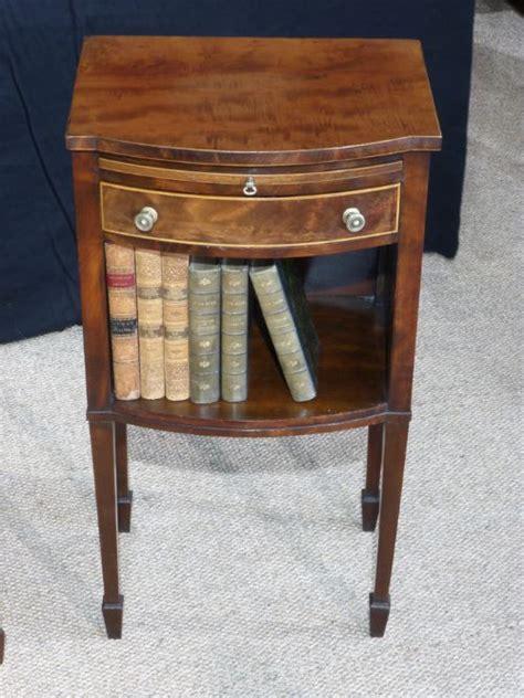 mahogany bedside table pair of edwardian mahogany bedside tables 272373 3943