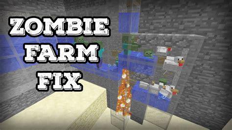 zombie minecraft baby farm jockey chicken proof