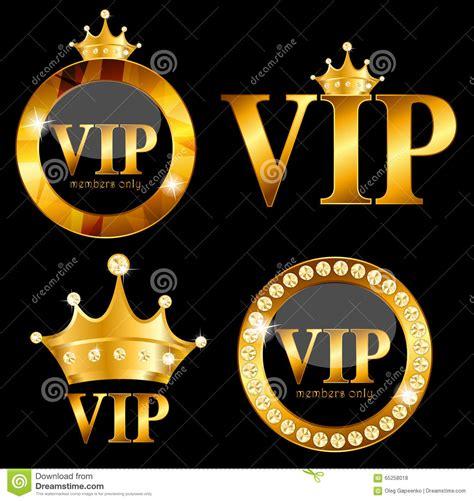 vip members card vector illustration stock photo image