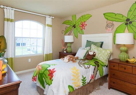 deco jungle chambre déco chambre enfant jungle deco maison moderne