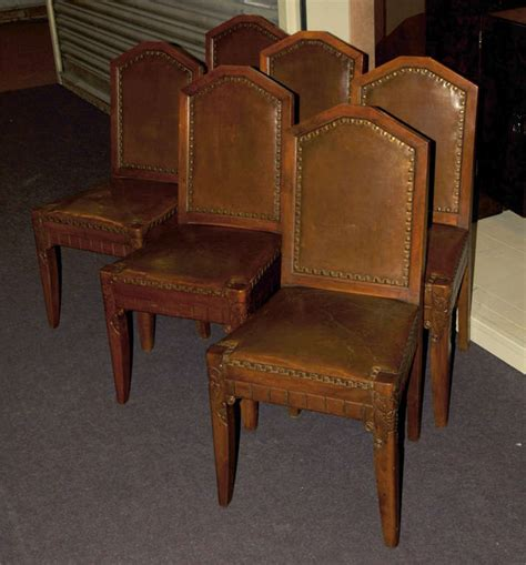 six 1920 1930 d 233 co chairs at 1stdibs