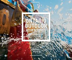ontario outdoor adventures calendar huntfreebies