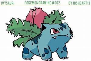 Pokemon Ivysaur Drawing Images | Pokemon Images