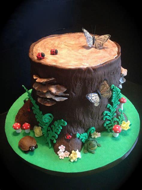 red woodland fairy cake pin fondant tutorial woodland
