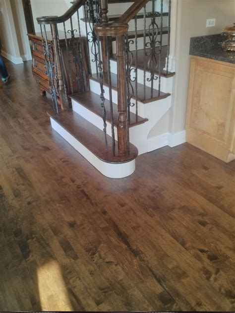 bona antique brown stain   maple wood flooring