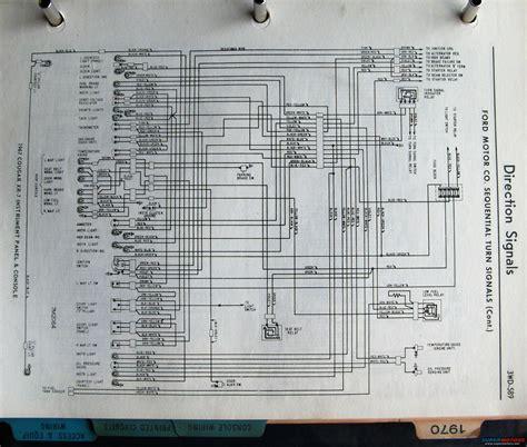 1967 Mercury Wiring Diagram Starter System 1968 xr7 dash to headlights starter solenoid wire
