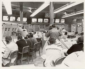 Vintage NASA Mission Control (page 2) - Pics about space