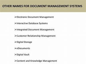 basic component of document management system software With document management system components
